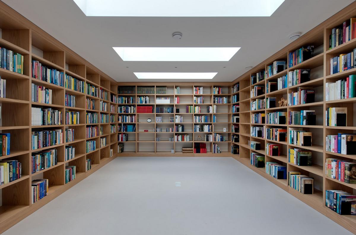Van Buchem House, цокольный этаж в жилом доме, гараж под землей в частном доме, Siebold Nijenhuis Architect, частный дом в Роттердаме, дом в Нидерландах