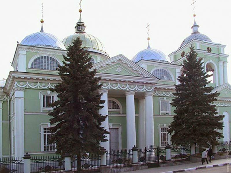 Преображенский собор, Белгород, 2002 г., фото ИА Белру
