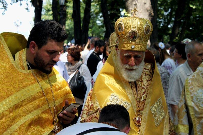 Молебен на Владимирской горке