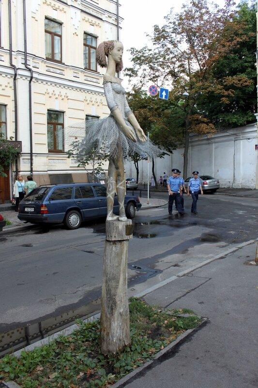 скульптура балерина киев стретинская
