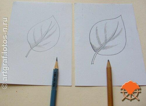 Элемент перекрестной штриховки - появляется мазня от тупого карандаша