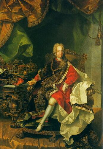 Портрет Императора Карла VI (1685–1740) в облачении рыцаря Ордена Золотого руна
