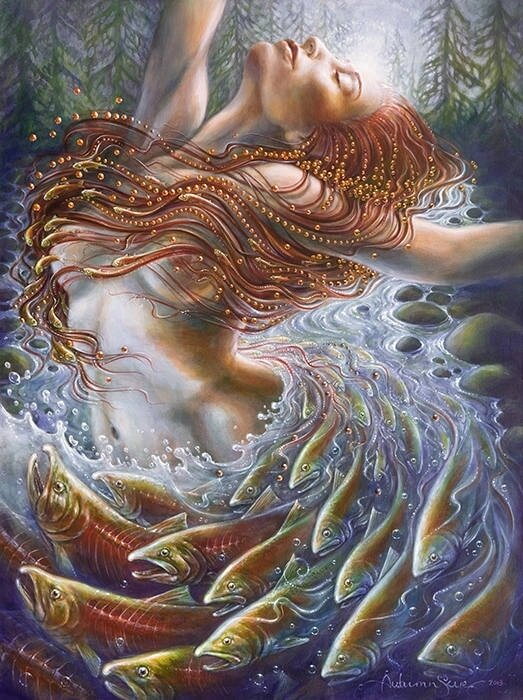 Женщины, они творцы простого БЫТИЯ Художница Autumn Skye Morrison