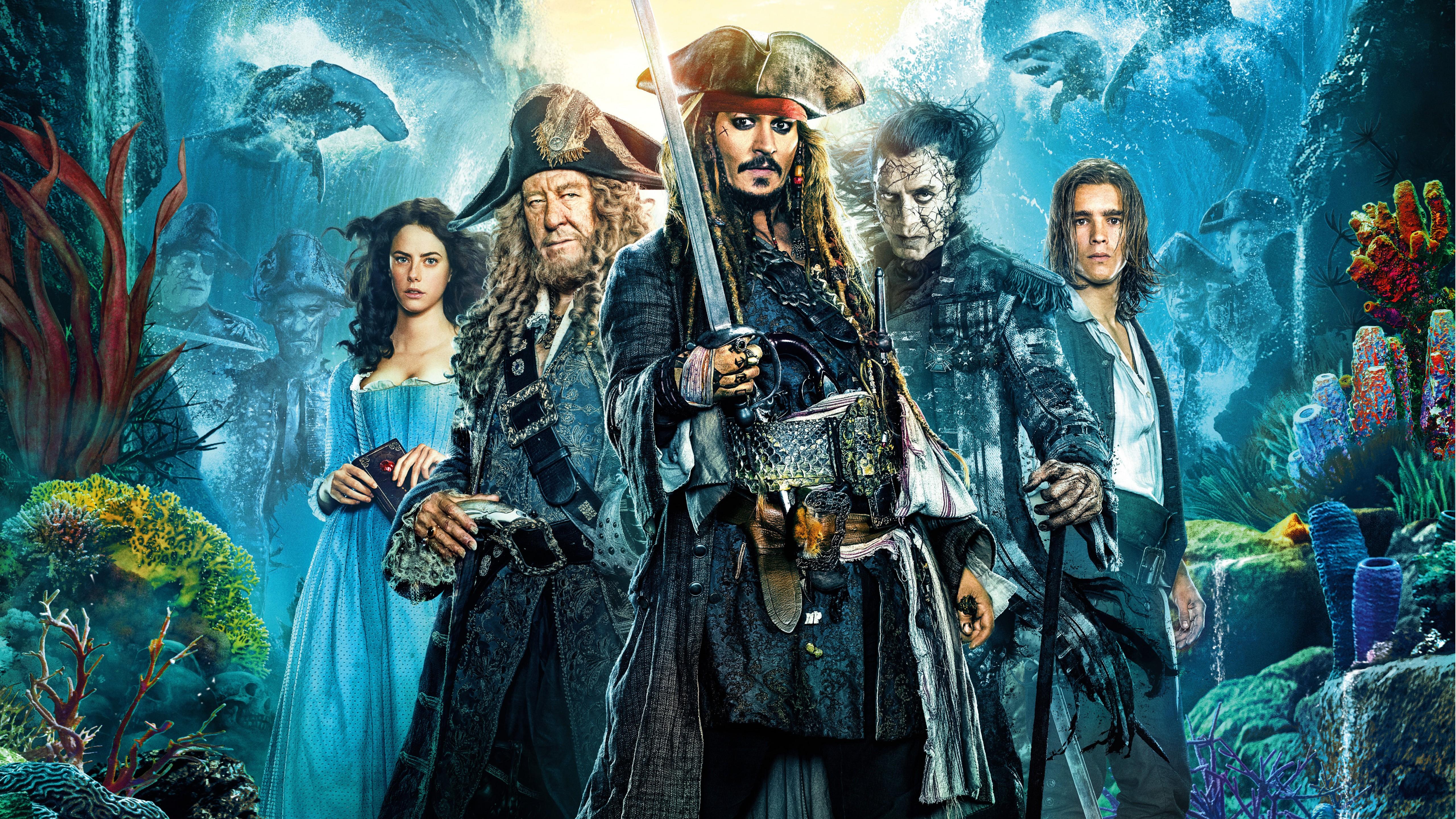 Пираты Карибского моря 5 Мертвецы не рассказывают сказки