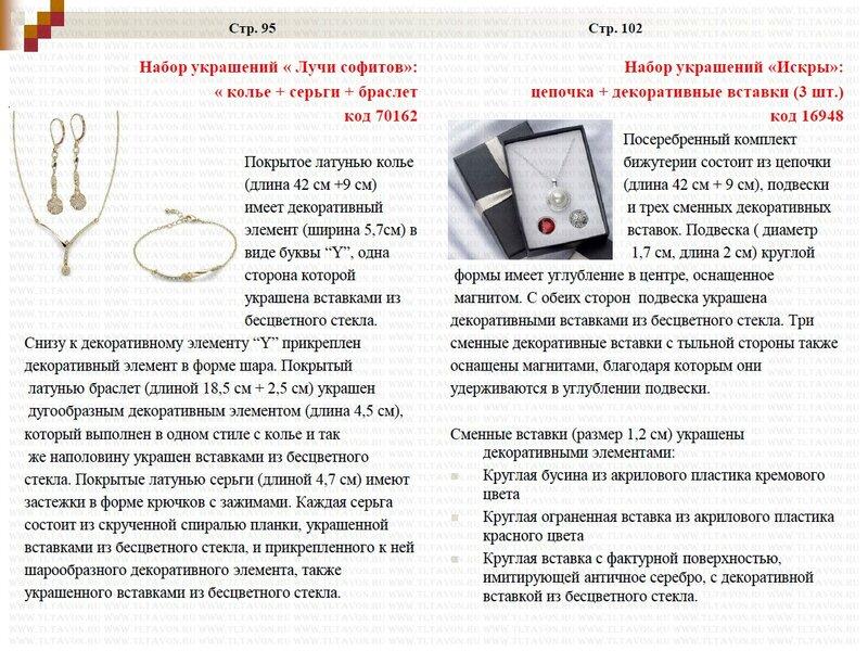 Подробное описание новинок каталога 15/2013_010