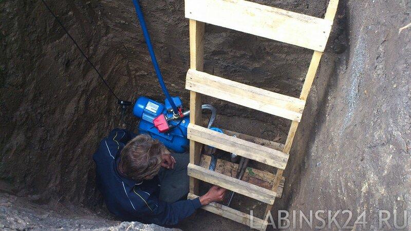 Водяная скважина для строительства каркасного дома