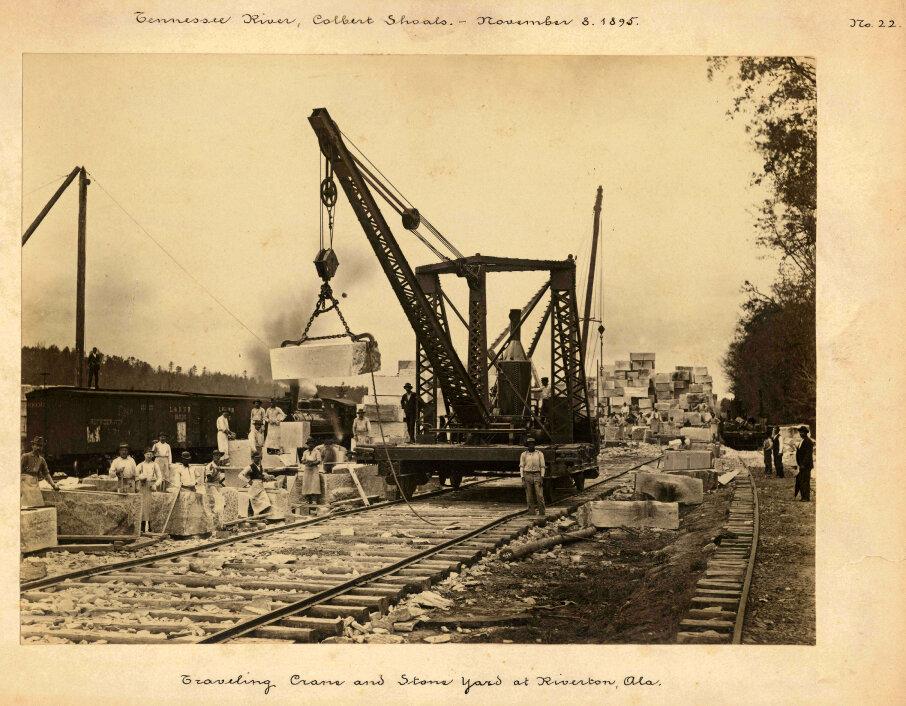 1895. Канал Кольбер-Шолс