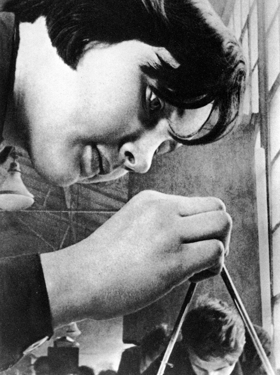 Студентка. 1934 год.