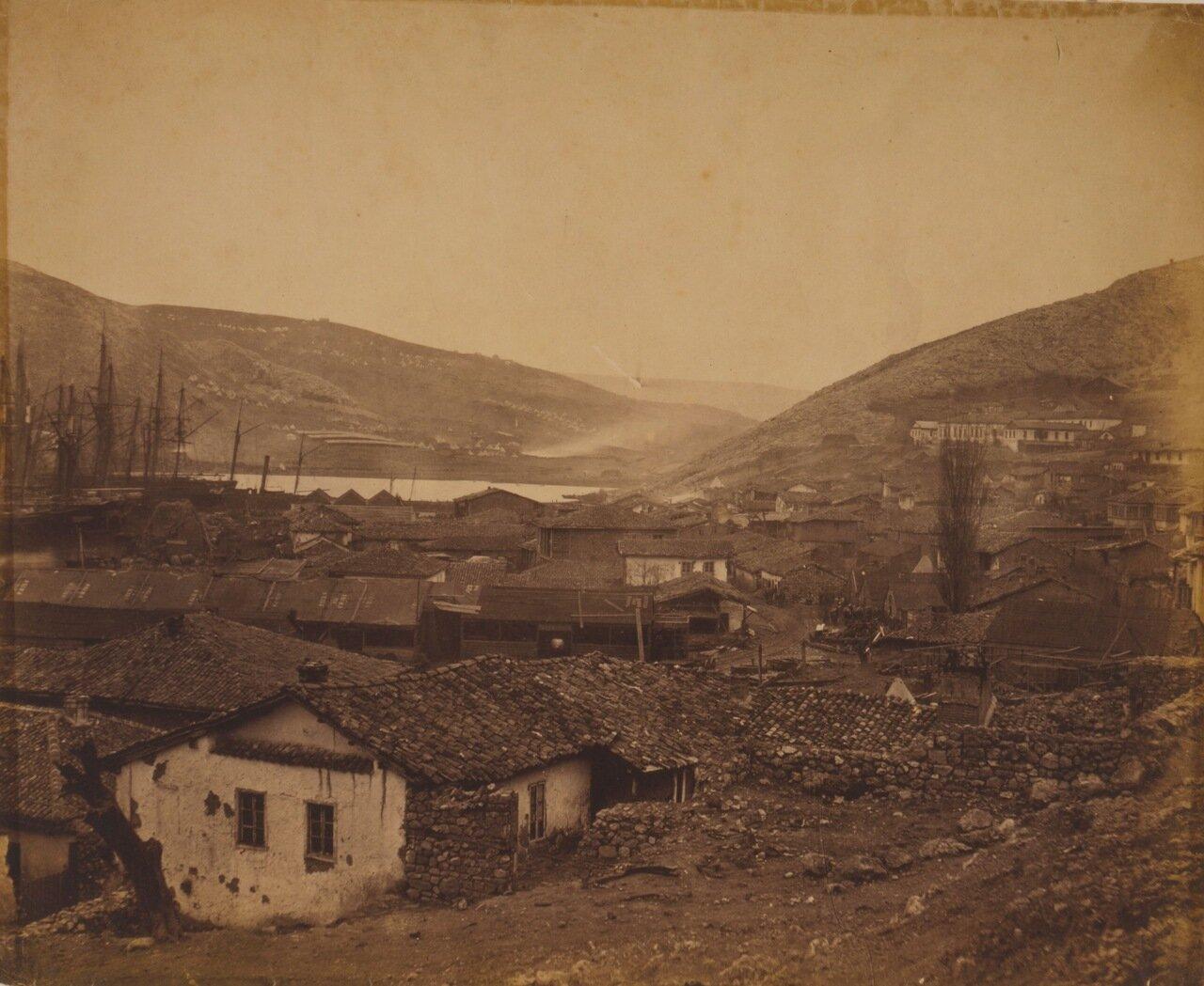 1855. Панорама города