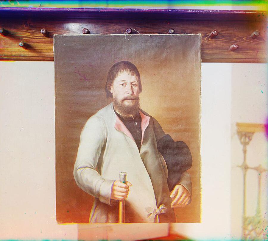 Портрет Волоскова, ржевского гражданина. Лето 1910 года