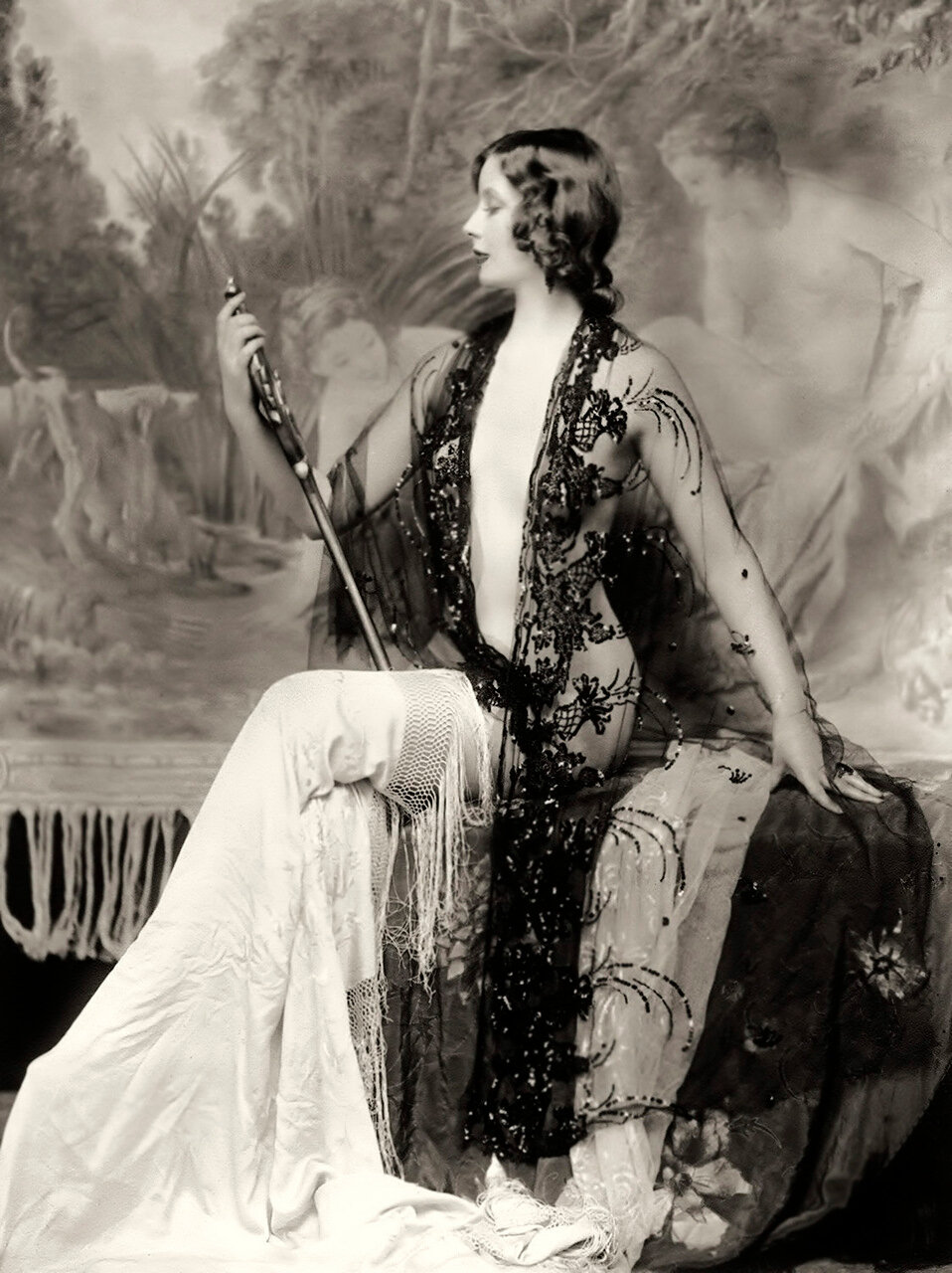 ziegfeld star - blanche satchell - by Alfred Cheney Johnston