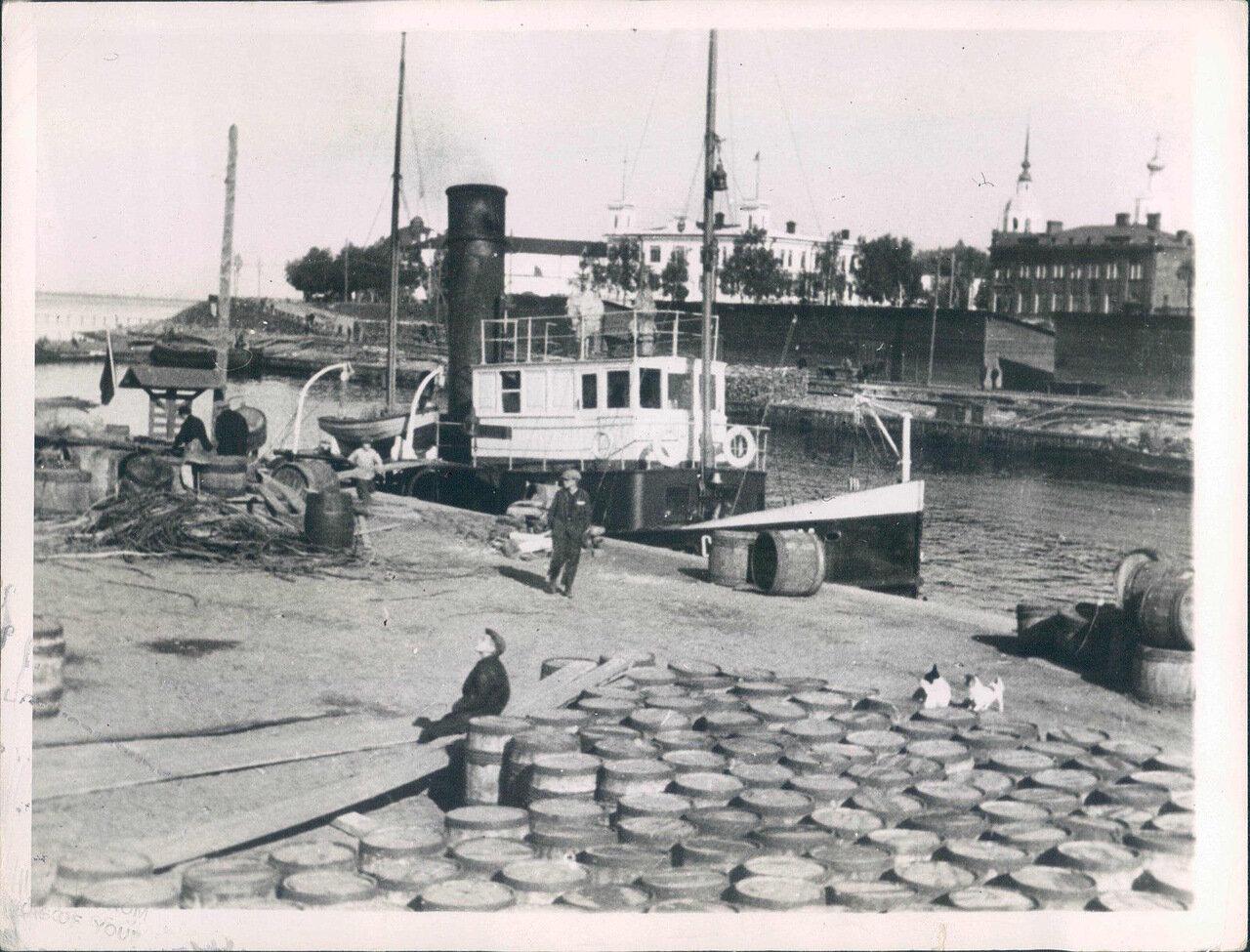 1920-е. Порт Архангельска.