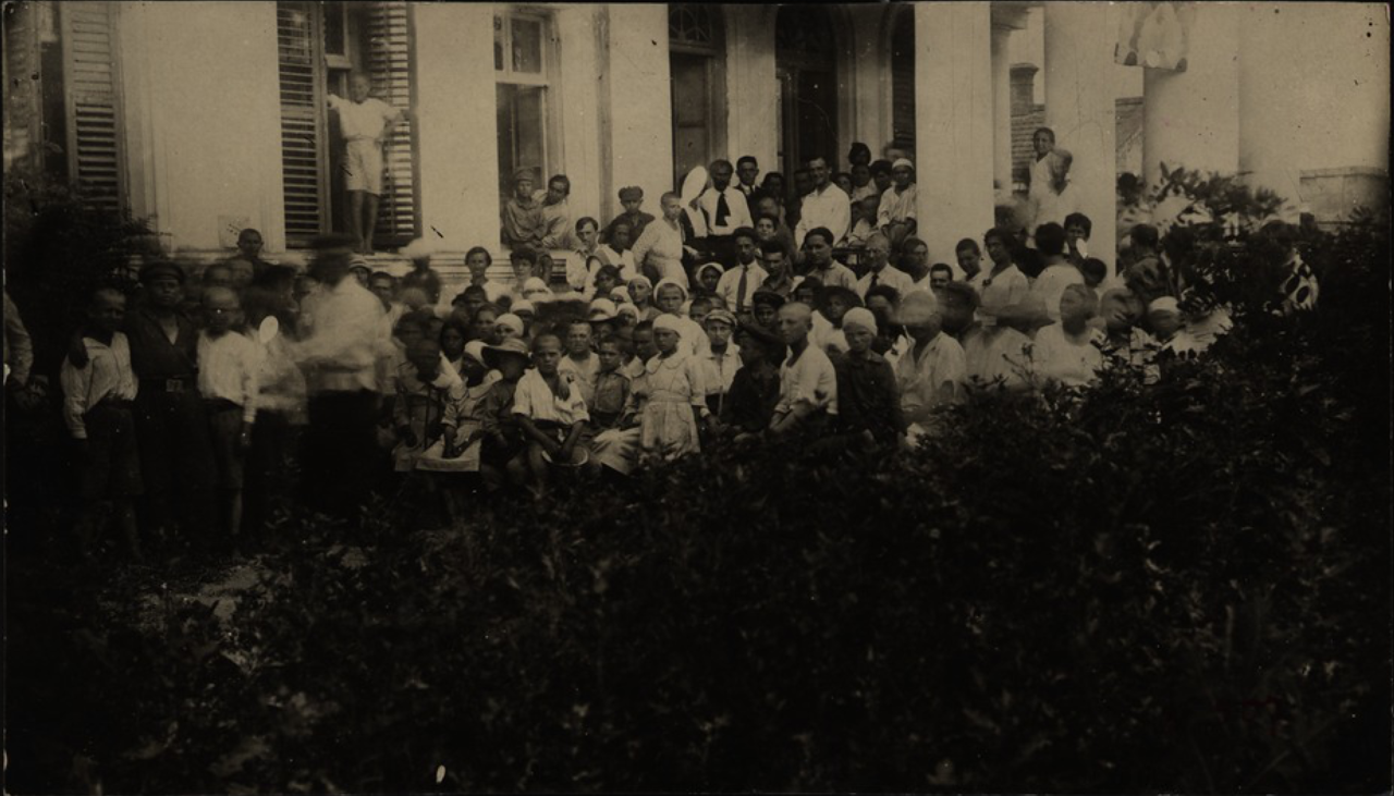 Одесса. Детский дом на даче. 1920-е - 1930-е.