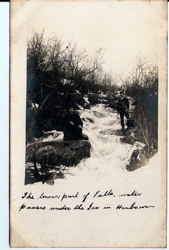 Нижний водопад возле Мурманска