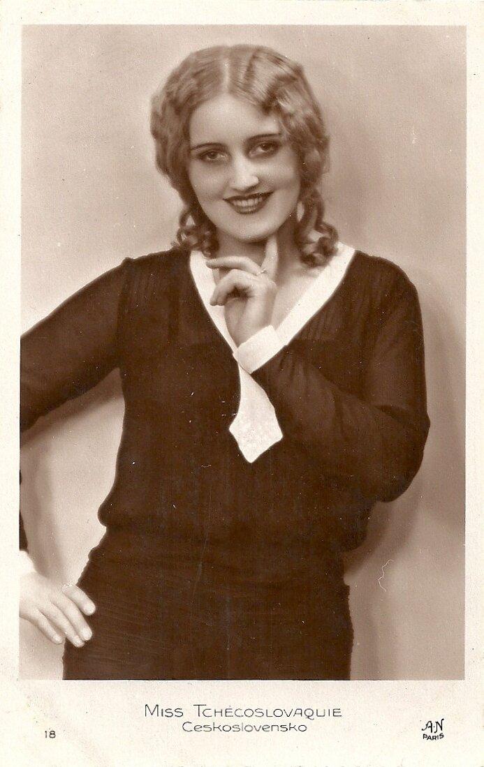Мисс Чехословакия. Милада Досталова