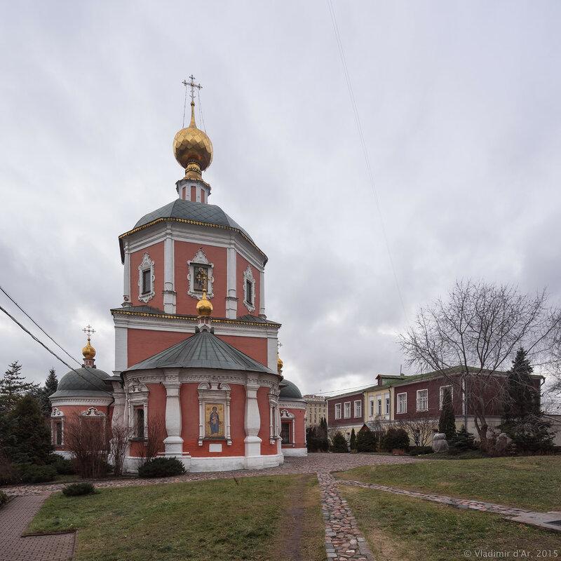 Церковь Живоначальной Троицы подворья Троице-Сергиевой Лавры в Москве