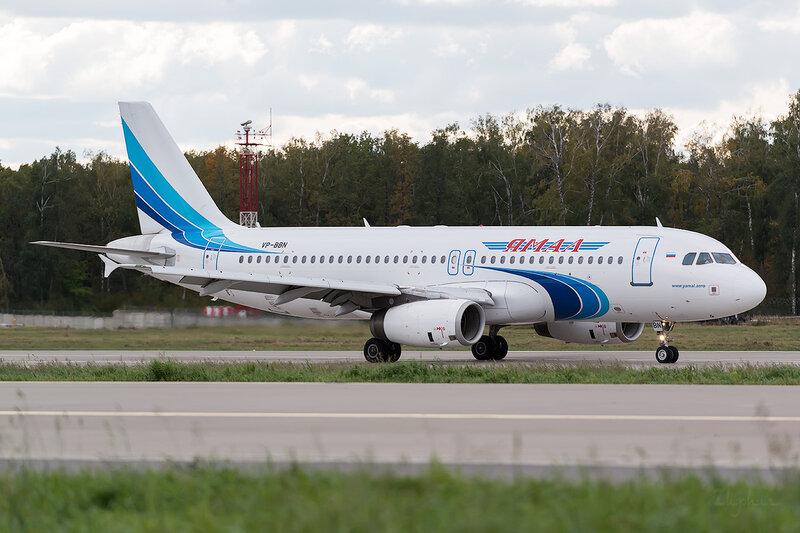Airbus A320-232 (VP-BBN) Ямал D802912