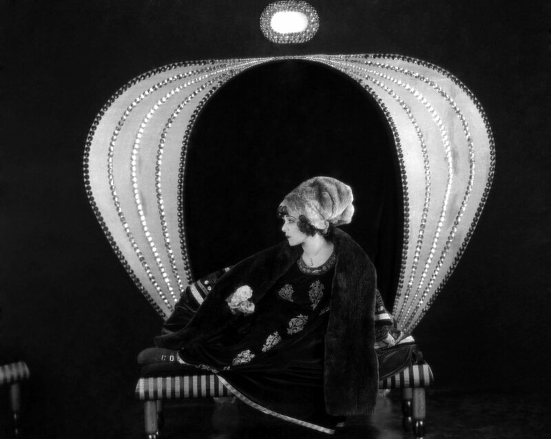 1921: Russian actress Alla Nazimova (born Mariam Levington, 1879 - 1945) plays an ailing courtesan in 'Camille', directed by Ray C Smallwood and based on the novel 'La Dame aux Camelias' by Alexandre Dumas fils. (Photo by Rice)