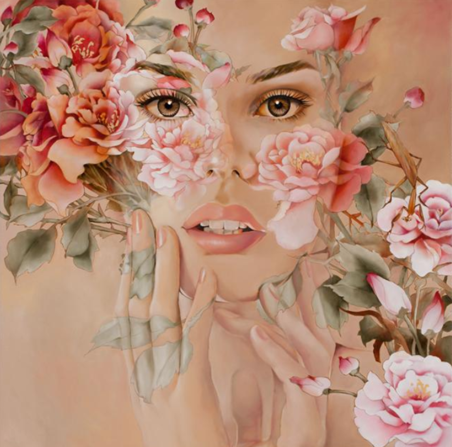 Цветочные картины  Wendy Ng