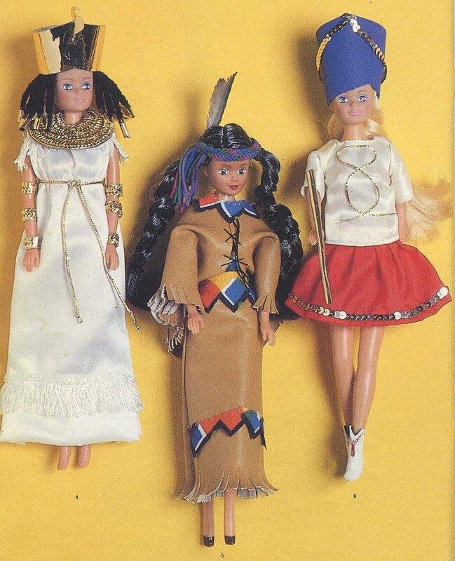 Карнавал.Одежда для кукол. 1
