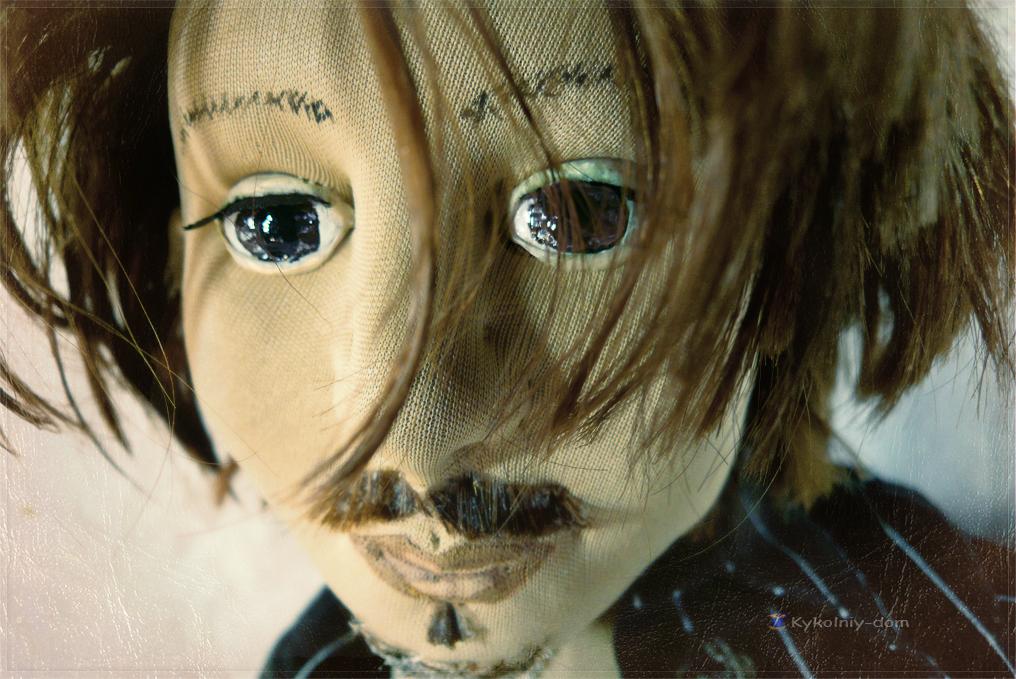 портретная кукла Джони Депп. шляпник. Алиса в стране чудес. Джони Депп.