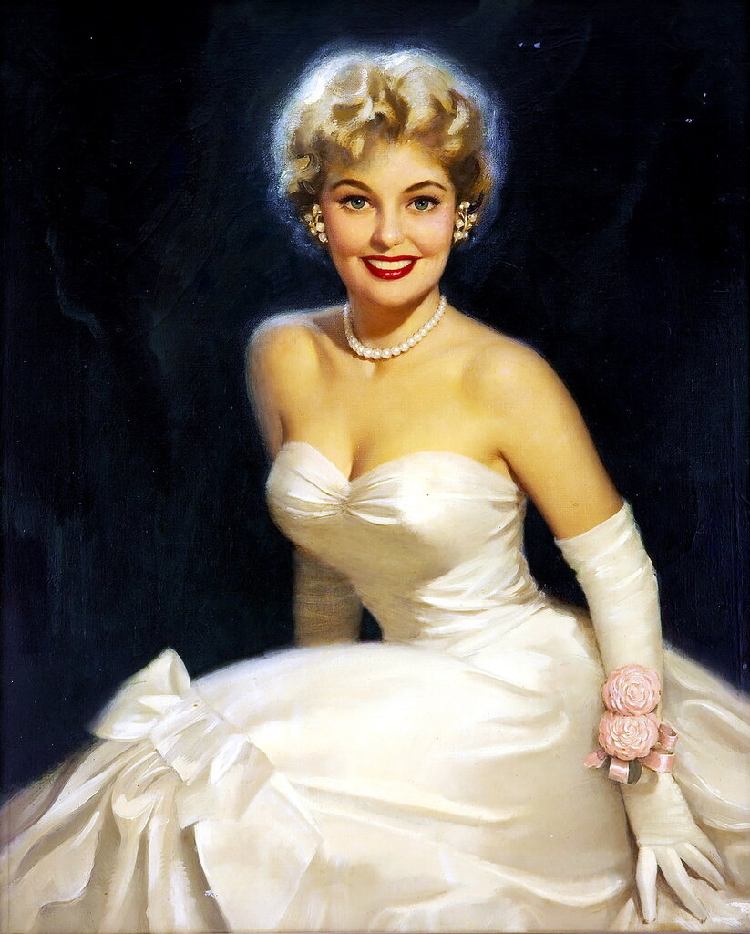 Walt Otto (1895-1963) - Blonde beauty