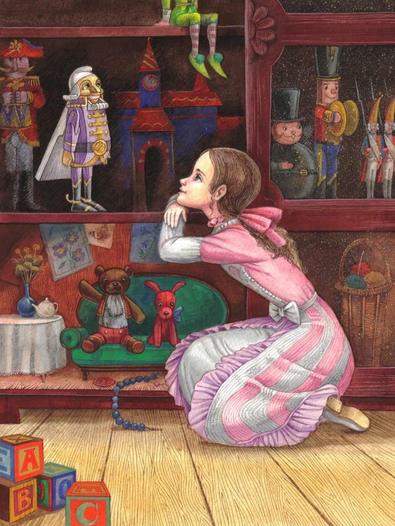 Иллюстратор Максим Митрофанов Сказка «Щелкунчик и мышиный король ...