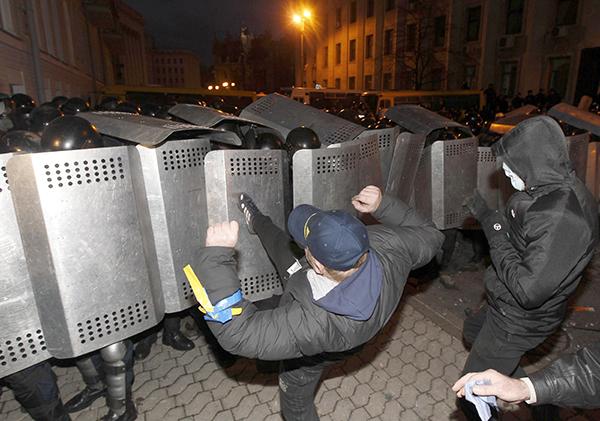 Реакция России на события в Украине