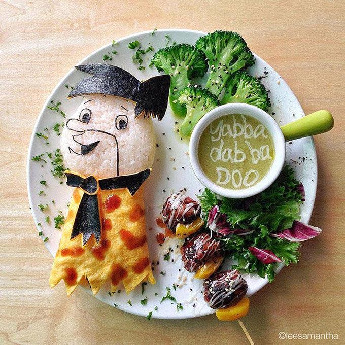 """Как сделать так, чтобы ребенок доел свой обед или """"Вкусные сказки"""" Ли Саманты. 15 тарелок."""
