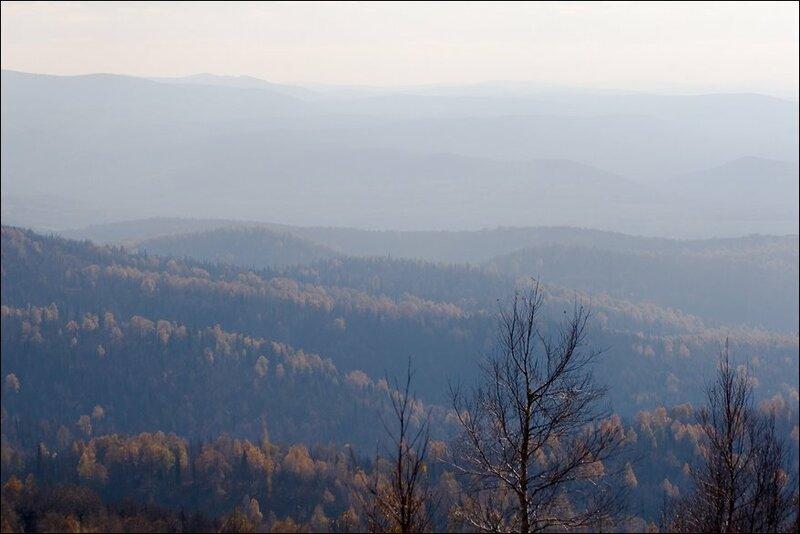 Аджигардак в тумане (03.10.2013)