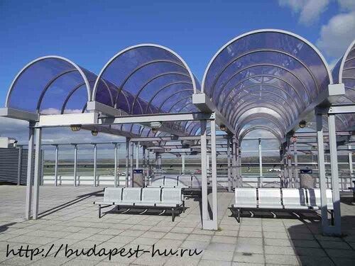 Смотровая площадка в аэропорту Будапешта