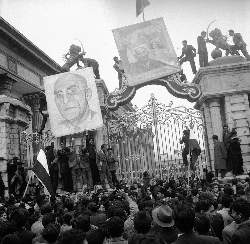 Iran Persia Demonstrations 1953