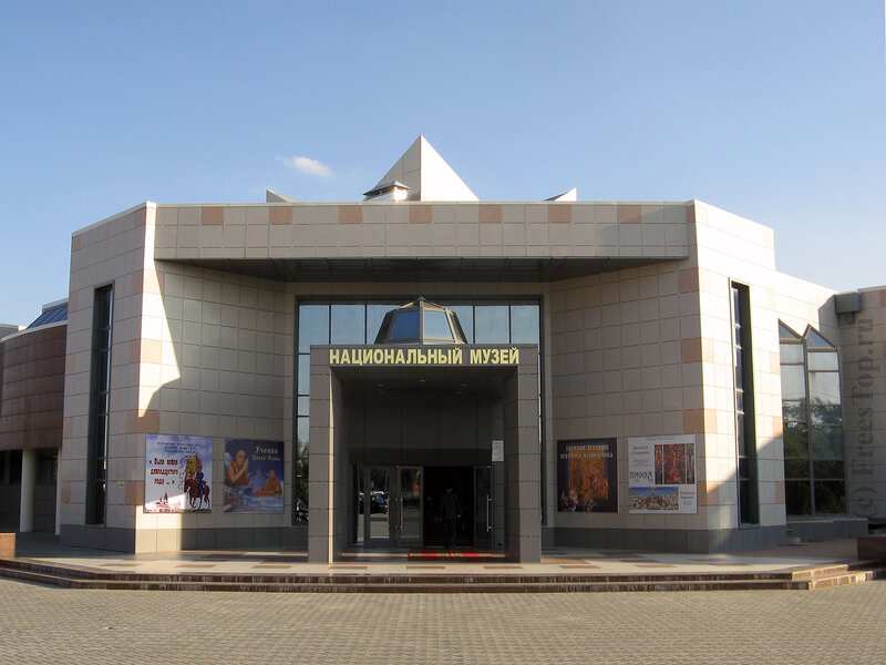 Национальный музей г. Элиста.