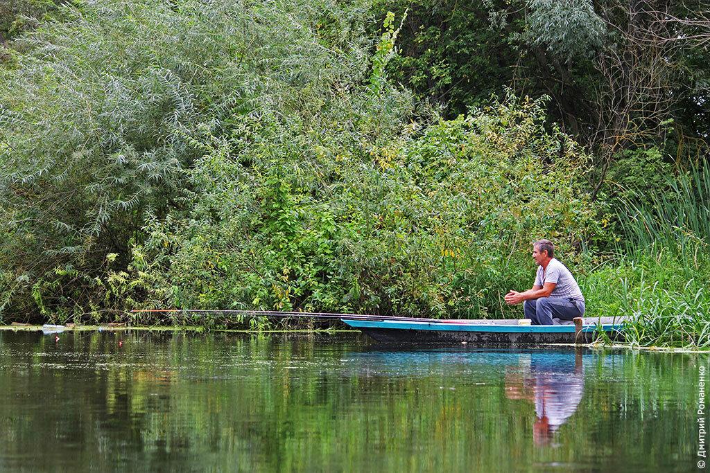 рыбак, река, оскол, волоконовский район, Белгородская область
