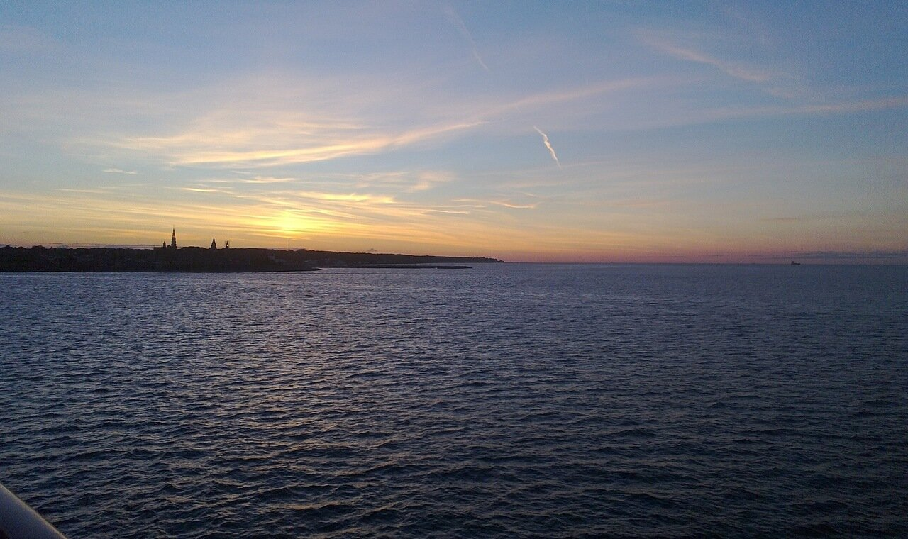 Пролив Эресунд. Øresund