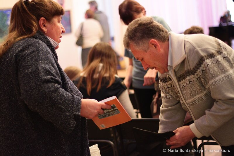 Открытие выставки 'Хвалынские пленэры', Саратов, дом работников искусств, 23 октября 2013 года