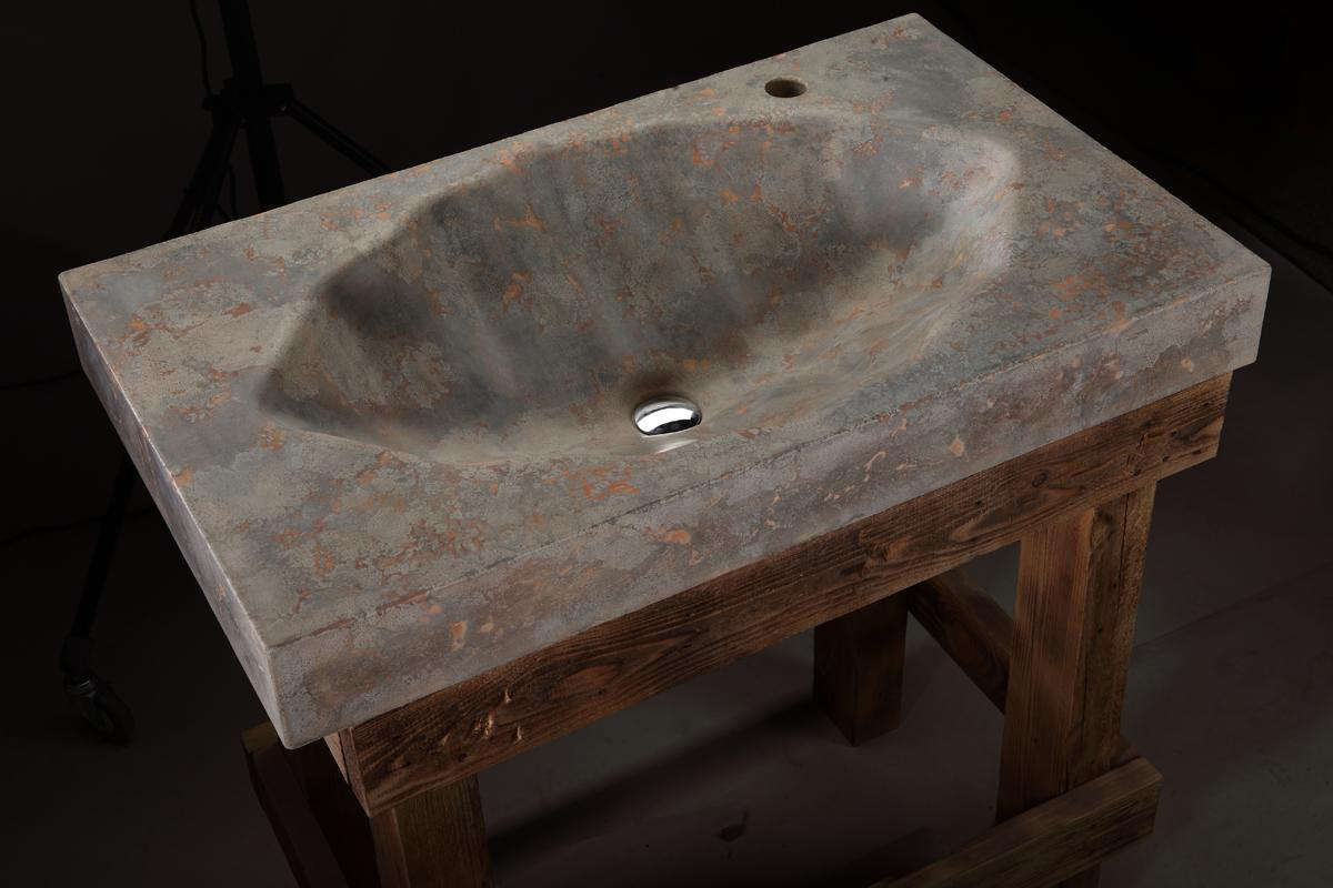 Pietra Danzare, раковины Pietra Danzare, раковина из бетона, дизайнерская раковина, раковина ручной работы, раковины из полированного бетона