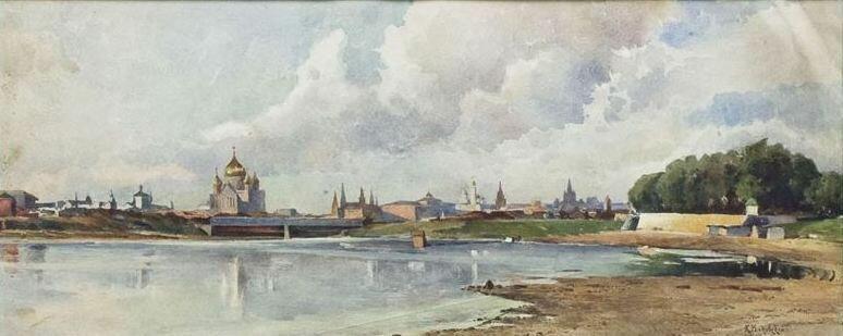 Маковский Н.Е. Вид Москвы