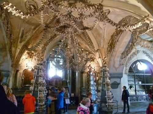 Чехия, Кутна Гора – Костница (Czech Republic, Kutna Hora – Ossuary)