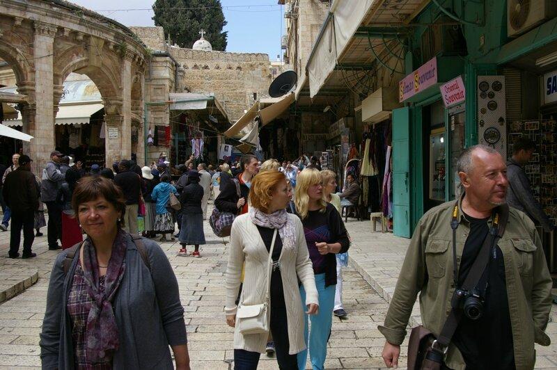 День восьмой. По старому городу. Иерусалим. Израиль. 2013.