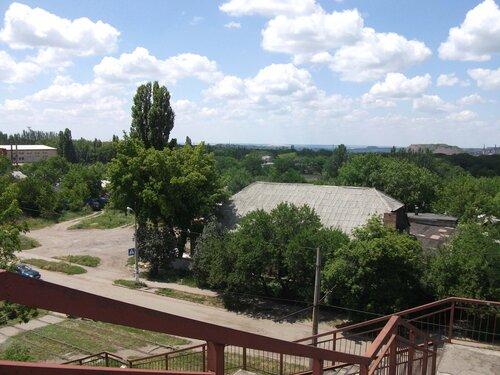 Вид с моста в сторону стадиона