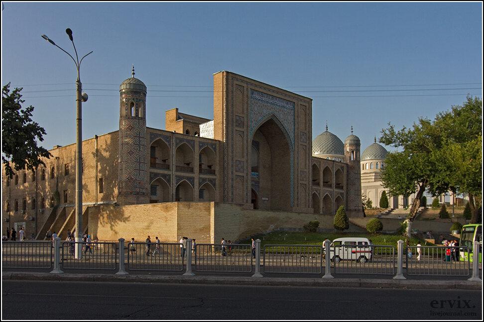 Краткая прогулка по Ташкенту