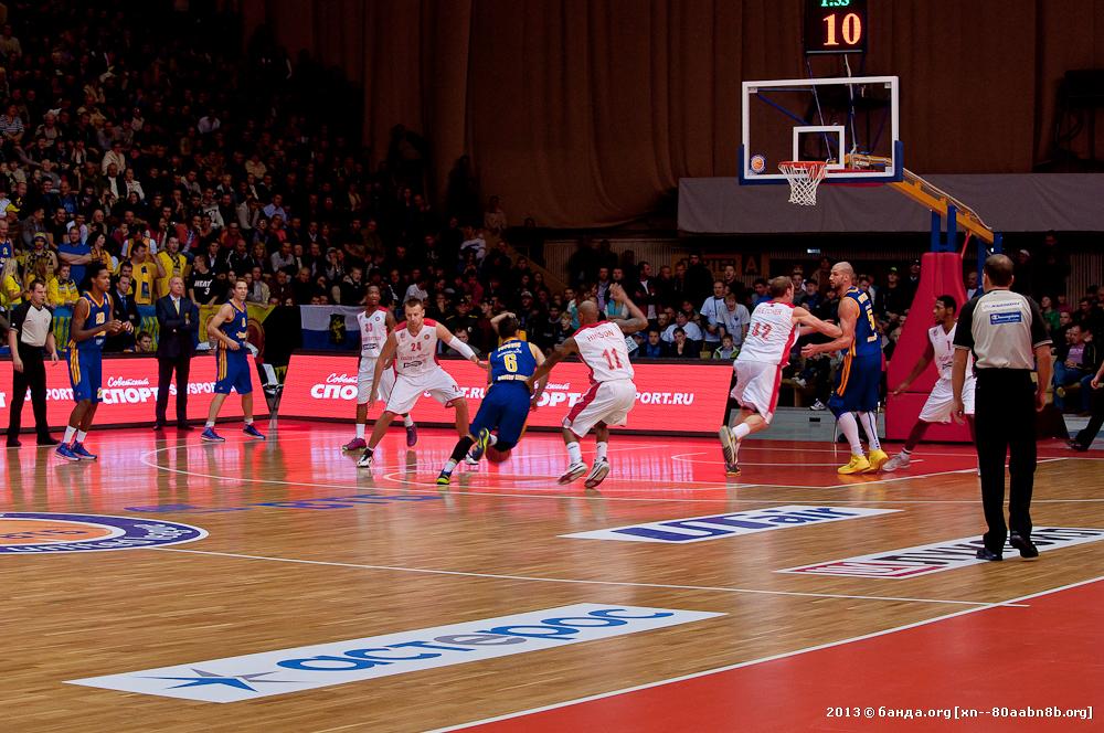Баскетбол. Красный Октябрь - Химки