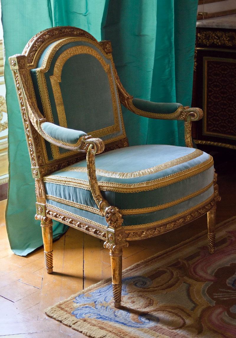 太师椅比肩乔治雅各布 - 内阁多金德拉赖因 - 凡尔赛宫博物馆