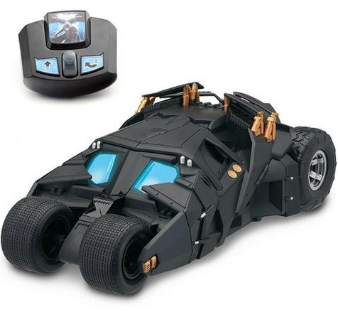 Машина 63250 Бэтмобиль на ИК управлении со светом, с батарейками