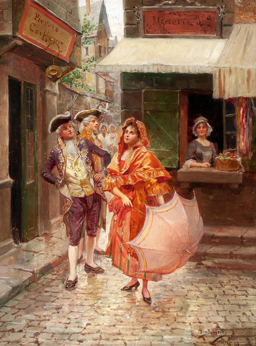 Parisian Gallantry, 1893