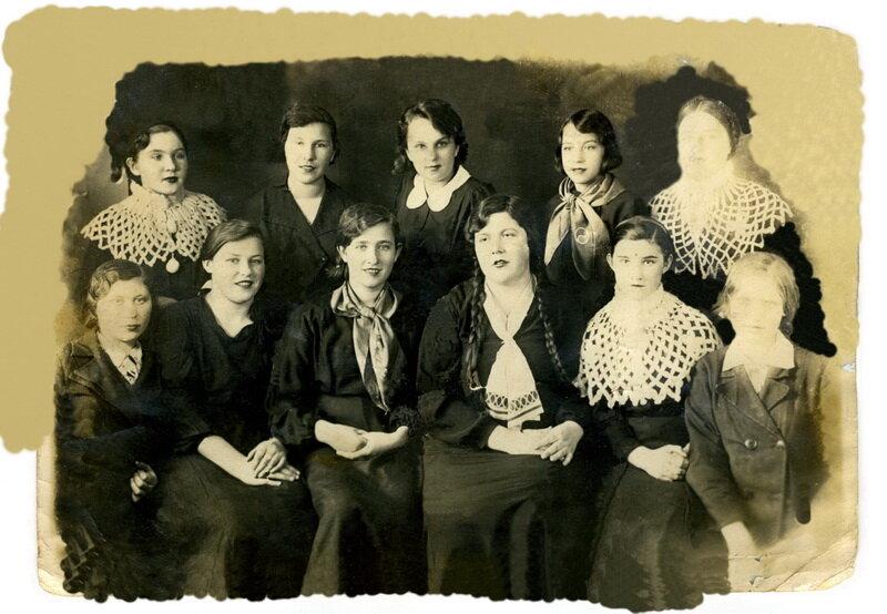 1941. 10-й женский класс. Коростень