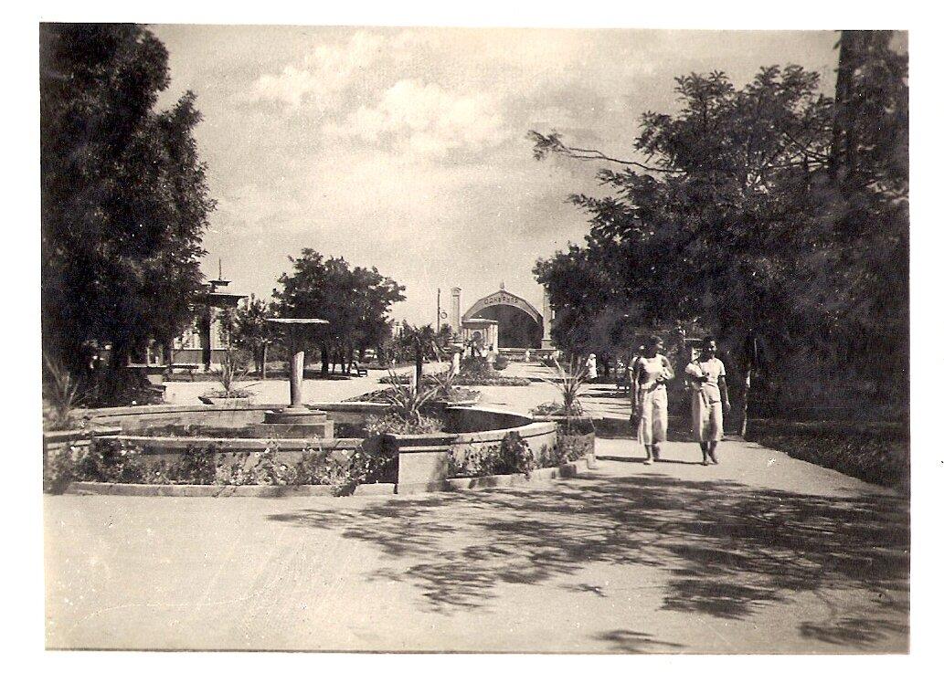 Парк на Куяльницком лимане.1938