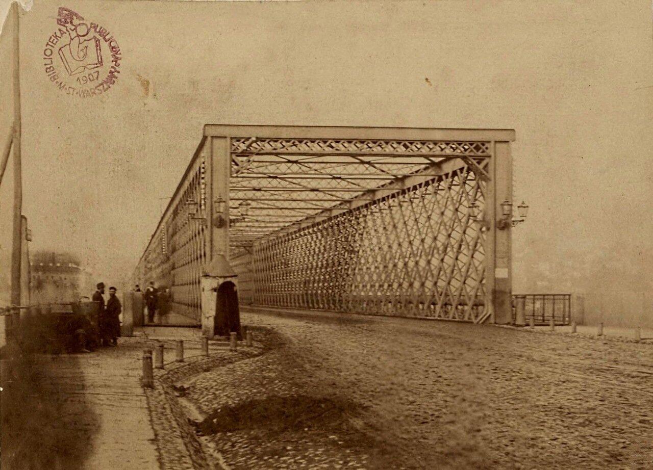 Въезд на Александровский мост 1865
