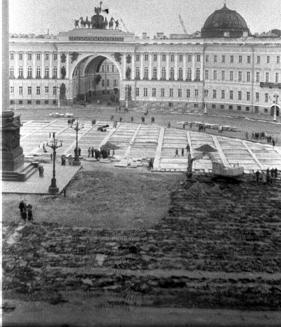 Ремонт Дворцовой площади